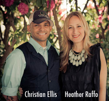 Christian Ellis and Heather Raffo